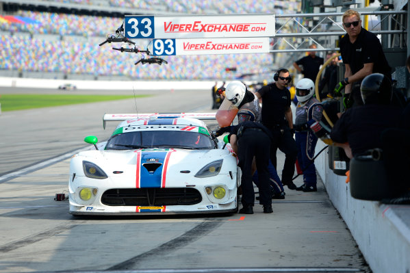 8-10 January,  2016, Daytona Beach, Florida USA 93, Viper V10, Dodge GT3-R, GTD, Ben Keating, Gar Robinson, Jeff Mosing, Eric Foss, Damien Faulkner ©2016, Richard Dole LAT Photo USA