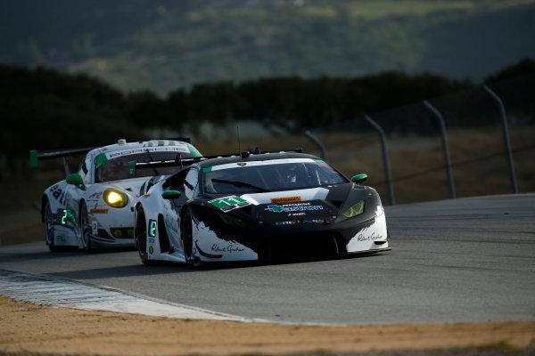 29 April - May 1, 2016, Monterey, California , 11, Lamborghini, Huracan GT3, GTD,  ?2016, Michael L. Levitt LAT Photo USA