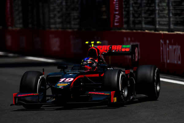 2017 FIA Formula 2 Round 4. Baku City Circuit, Baku, Azerbaijan. Friday 23 June 2017. Johnny Cecotto Jr. (VEN, Rapax)  Photo: Zak Mauger/FIA Formula 2. ref: Digital Image _54I9894