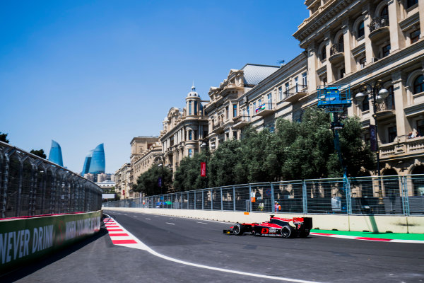 2017 FIA Formula 2 Round 4. Baku City Circuit, Baku, Azerbaijan. Friday 23 June 2017. Nobuharu Matsushita (JPN, ART Grand Prix)  Photo: Zak Mauger/FIA Formula 2. ref: Digital Image _54I9341