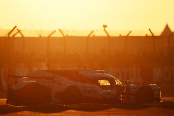 2017 Le Mans 24 Hours Circuit de la Sarthe, Le Mans, France. Saturday 17 June 2017 #8 Toyota Gazoo Racing Toyota TS050 Hybrid: Anthony Davidson, Sébastien Buemi, Kazuki Nakajima World Copyright: Rainier Ehrhardt/LAT Images ref: Digital Image 24LM-re-10773