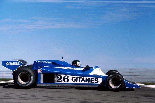 Jacques Laffite (FRA) Ligier JS9 finished the race in eleventh position.United States Grand Prix (East), Rd 15, Watkins Glen, USA, 1 October 1978. BEST IMAGEGE