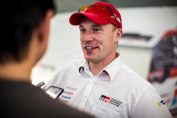 2017 FIA World Rally Championship, Round 13, Rally Australia 2017, 16-19 November 2017, Jari-Matti Latvala, Toyota, portrait, Worldwide Copyright: LAT/McKlein