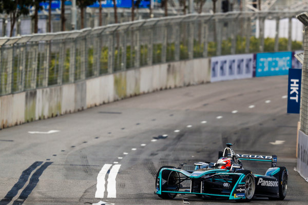 2017/2018 FIA Formula E Championship. Round 1 - Hong Kong, China. Saturday 02 December 2017.Mitch Evans (NZL), Panasonic Jaguar Racing, Jaguar I-Type II. Photo: Sam Bloxham/LAT/Formula E ref: Digital Image _J6I4030