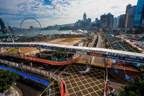 2017/2018 FIA Formula E Championship. Round 1 - Hong Kong, China. Saturday 02 December 2017. Mitch Evans (NZL), Panasonic Jaguar Racing, Jaguar I-Type II. Photo: Alastair Staley/LAT/Formula E ref: Digital Image _ALS5608