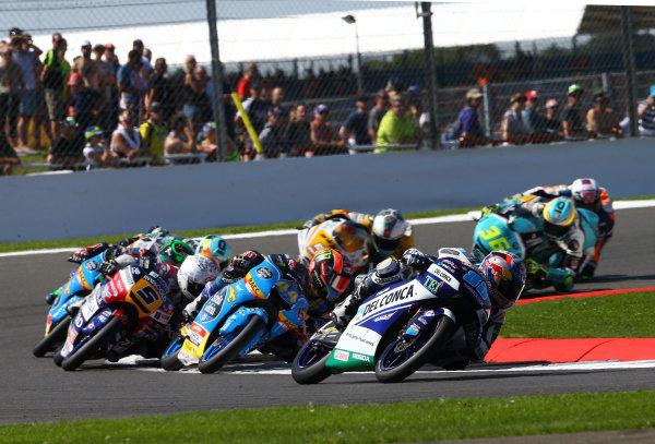 2017 Moto3 Championship - Round 12 Silverstone, Northamptonshire, UK. Sunday 27 August 2017 Jorge Martin, Del Conca Gresini Racing Moto3 World Copyright: Gold and Goose / LAT Images ref: Digital Image 690001