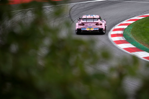 2017 DTM Round 8  Red Bull Ring, Spielberg, Austria  Friday 22 September 2017. Lucas Auer, Mercedes-AMG Team HWA, Mercedes-AMG C63 DTM  World Copyright: Alexander Trienitz/LAT Images ref: Digital Image 2017-DTM-RBR-AT2-0694