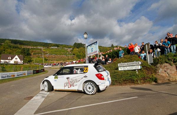 Round 11, Rallye de France 20124th - 7th October 2012Sebastien Ogier, Skoda, actionWorldwide Copyright: McKlein/LAT