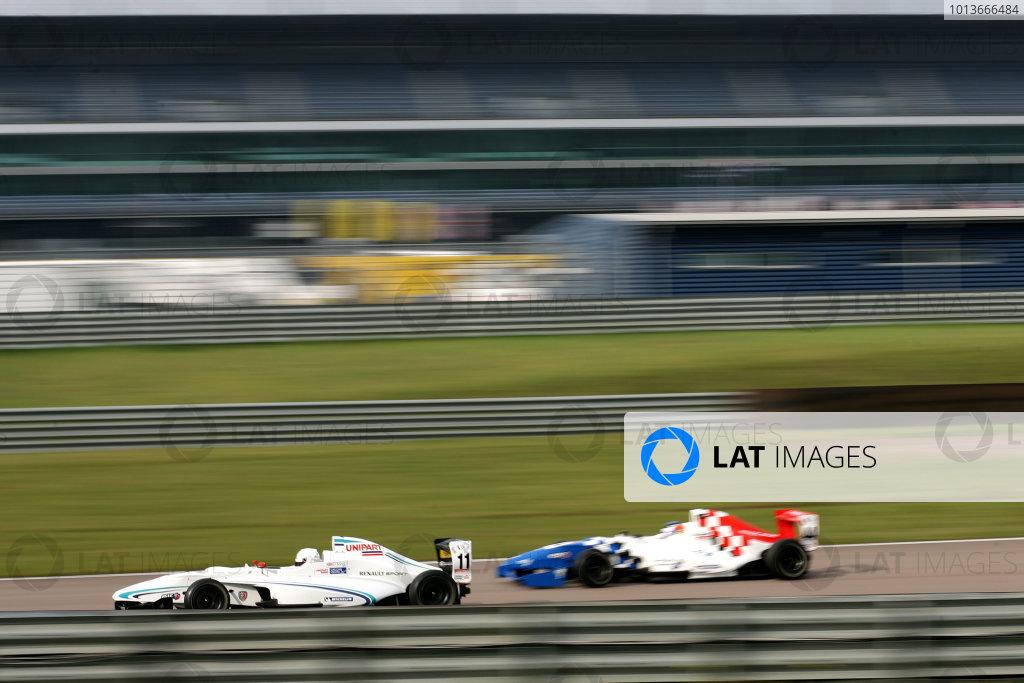 Rockingham, Northamptonshire. 17th - 18th September 2011.Oscar King (GBR) Atech Reid Formula Renault.World Copyright: Ebrey/LAT Photographic.