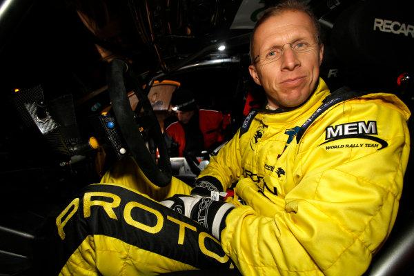Round 02 - Rally Sweden 09-12 February 2012. Alister McRae, Proton S2000, Portrait.  Worldwide Copyright: McKlein/LAT