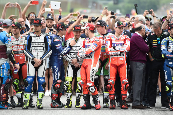 2017 MotoGP Championship - Round 6 Mugello, Italy Sunday 4 June 2017 Nicky Hayden rememberance World Copyright: Gold & Goose Photography/LAT Images ref: Digital Image 674919