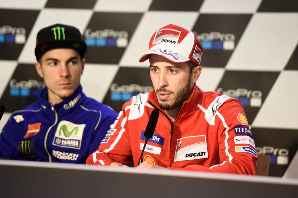 2017 MotoGP Championship - Round 9 Sachsenring, Germany Thursday 29 June 2017 Andrea Dovizioso, Ducati Team World Copyright: Gareth Harford/LAT Images ref: Digital Image 680865
