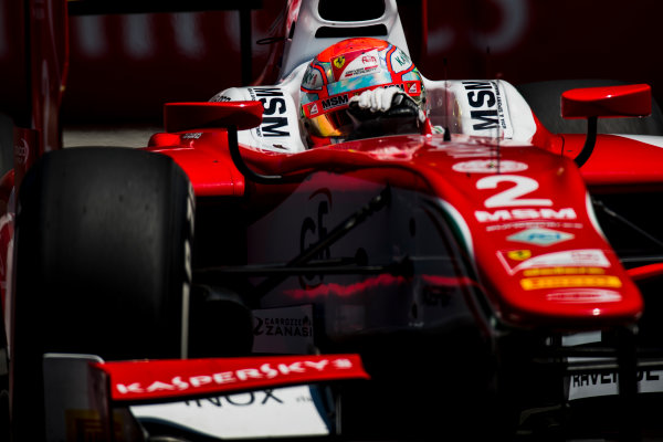 2017 FIA Formula 2 Round 4. Baku City Circuit, Baku, Azerbaijan. Friday 23 June 2017. Antonio Fuoco (ITA, PREMA Racing)  Photo: Zak Mauger/FIA Formula 2. ref: Digital Image _54I0391