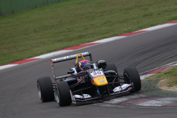 2014 FIA European F3 Championship Round 10 - Imola, Italy 10th - 12th October 2014 Max Verstappen (NED) Van Amersfoort Racing Dallara F312 ? Volkswagen World Copyright: XPB Images / LAT Photographic  ref: Digital Image 3338637_HiRes