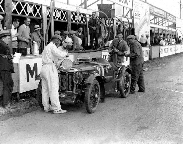 Le Mans, France. 13-14 June 1931.Francis Samuelson/Freddy Kindell (MG Midget C). Ref-Motor 745/1.World Copyright - LAT Photographic