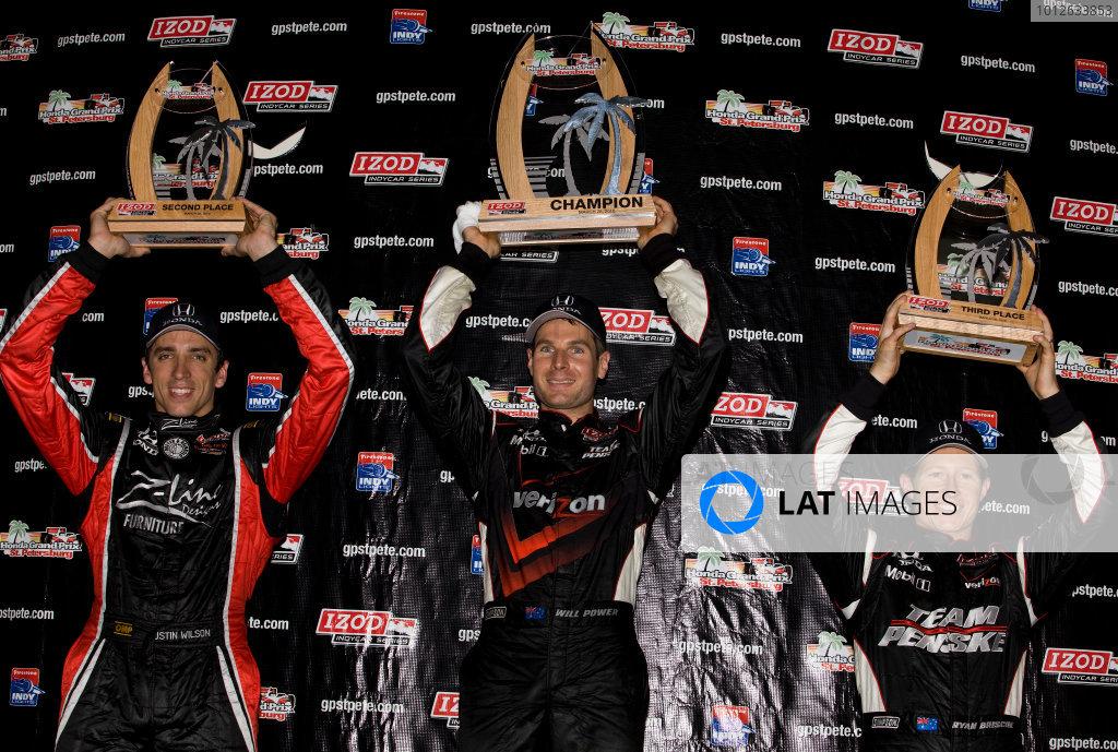 2010 IRL IndyCar St. Petersburg priority