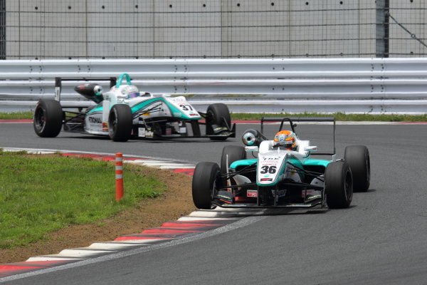 Fuji Speedway, Japan 13th - 14th July 2013.Rd 9 Winner  Yuichi Nakayama ( #36 PETRONAS TEAM TOM'S ) action World Copyright: Yasushi Ishihara/LAT Photographic Ref: Digital Image 2013JF3_Rd8&9_013