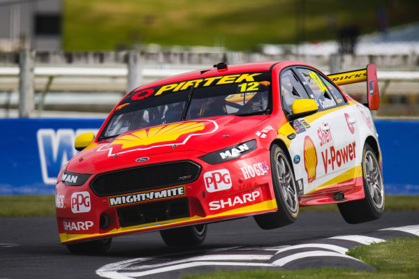 2017 Supercars Championship Round 14.  Auckland SuperSprint, Pukekohe Park Raceway, New Zealand. Friday 3rd November to Sunday 5th November 2017. Fabian Coulthard, Team Penske Ford.  World Copyright: Daniel Kalisz/LAT Images  Ref: Digital Image 031117_VASCR13_DKIMG_0830.jpg