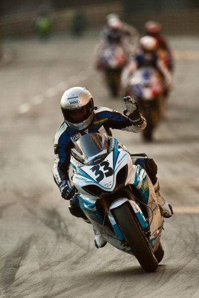 19th - 22nd November 2009. Circuit de Guia, Macau. Luis Carreira, (Benimoto Suzuki Cetelem). Action. World Copyright: Drew Gibson/LAT Photographic.ref: Digital Image VY9E0641