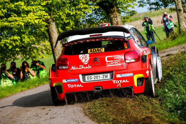 2017 FIA World Rally Championship, Round 10, Rallye Deutschland, 17-20 August, 2017, Craig Breen, Citroen, action, Worldwide Copyright: McKlein/LAT