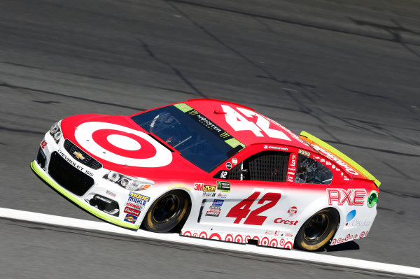 Monster Energy NASCAR Cup Series Bank of America 500 Charlotte Motor Speedway, Concord, NC Friday 6 October 2017 Kyle Larson, Chip Ganassi Racing, Target Chevrolet SS World Copyright: Matthew T. Thacker LAT Images