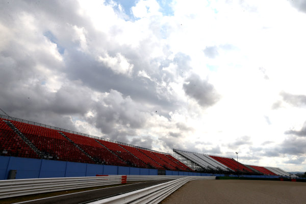 2017 MotoGP Championship - Round 13 Misano, Italy. Thursday 7 September 2017 Empty Grandstands World Copyright: Gold and Goose / LAT Images ref: Digital Image 690229