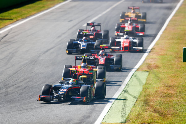 Autodromo Nazionale di Monza, Italy. Sunday 3 September 2017 Roberto Merhi (ESP, Rapax).  Photo: Bloxham/FIA Formula 2 ref: Digital Image _W6I4706