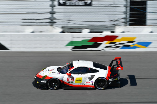 13-14 December 2016,  Daytona Beach, Florida USA 912, Porsche, Porsche 911 RSR, GTLM, Michael Christensen, Laurens Vanthoor ?2016, Richard Dole LAT Photo USA