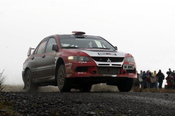 2007 World Rally Championship,Wales Rally GB, 30th November - 2nd December 2007,Guy Wilks, Mitsubishi, ActionWorld Copyright: McKlein/LAT Photographic