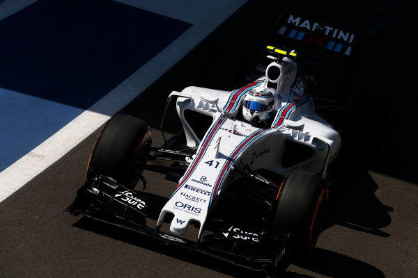 Silverstone, Northamptonshire, England. Friday 03 July 2015. Susie Wolff, Williams FW37 Mercedes. World Copyright: Alastair Staley/LAT Photographic. ref: Digital Image _79P9211