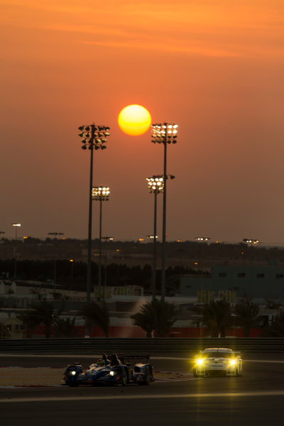 2015 FIA World Endurance Championship Bahrain 6-Hours Bahrain International Circuit, Bahrain Saturday 21 November 2015. Nelson Panciatici, Paul Loup Chatin, Tom Dillmann (#36 LMP2 Signatech Alpine Alpine A450B Nissan). World Copyright: Sam Bloxham/LAT Photographic ref: Digital Image _SBL5252