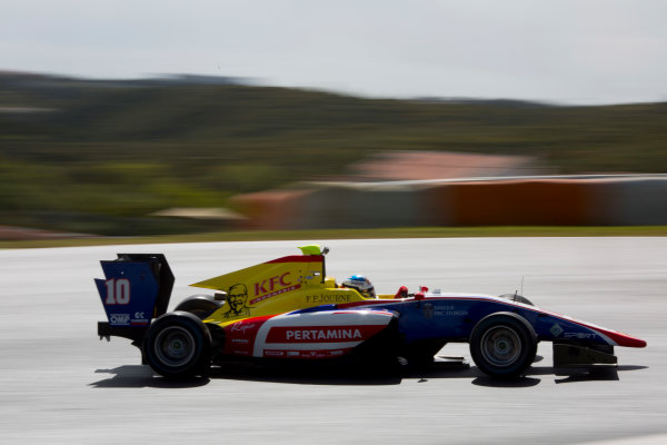2017 GP3 Series Testing Estoril, Portugal. Thursday 23 March 2017 Giuliano Alesi (FRA, Trident). Action.  Photo: Alastair Staley/GP3 Series Media Service ref: Digital Image 580A3758