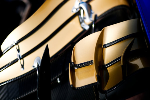 Monte Carlo, Monaco. Wednesday 24 May 2017. Toro Rosso STR12 Renault front wing detail. World Copyright: Sam Bloxham/LAT Images ref: Digital Image _W6I9835