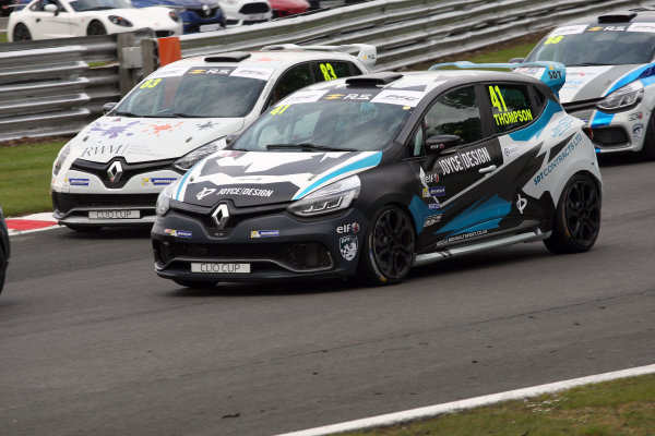 2017 Renault Clio Cup, Oulton Park, 20th-21st May 2017, Aaron Thompson (GBR) JamSport Racing Renault Clio Cup World copyright. JEP/LAT Images