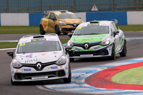2017 Renault Clio Cup, 15th-16th April 2017, Donington Park, Kyle Hornby (GBR) Pyro with 20Ten Racing Renault Clio Cup Copyright. JEP/LAT Images