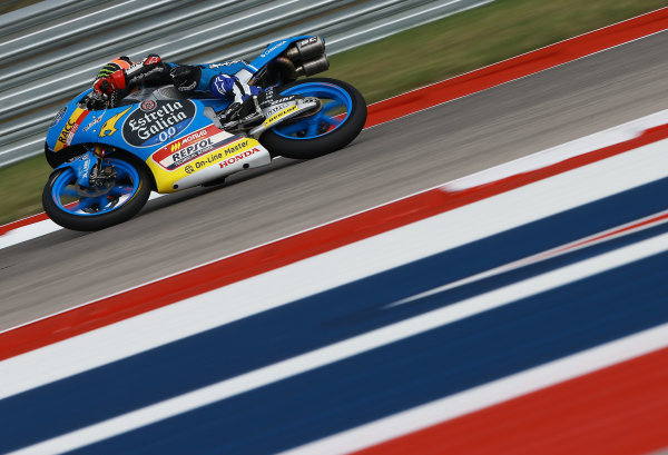 2017 Moto3 Championship - Round 3 Circuit of the Americas, Austin, Texas, USA Friday 21 April 2017 Aron Canet, Estrella Galicia 0,0 World Copyright: Gold and Goose Photography/LAT Images ref: Digital Image Moto3-500-1502