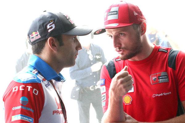Johann Zarco, Pramac Racing Jack Miller, Ducati Team.