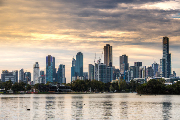 Skyline at Formula One World Championship, Rd1, Australian Grand Prix, Practice, Albert Park, Melbourne, Australia, Friday 24 March 2017. BEST IMAGE