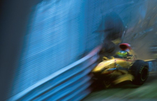 Ralf Schumacher (GER), Jordan 197 DNF hits the wall hard during his crash Formula One World Championship, Rd 7, Canadian Grand Prix, Montreal, 15th June 1997