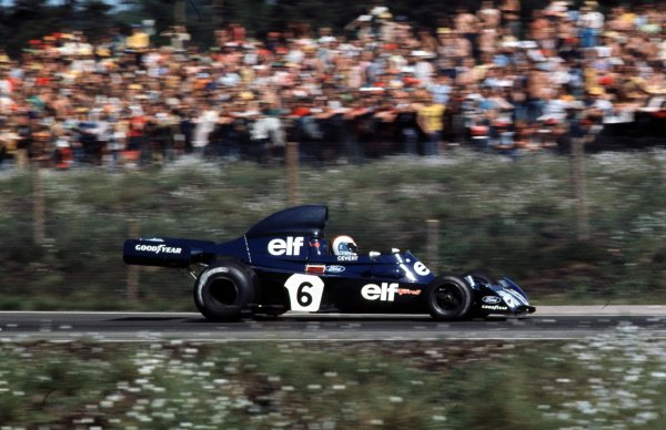 1973 Swedish Grand Prix.  Anderstorp, Sweden. 15-17th June 1973.  Francois Cevert (Tyrrell 006 Ford) 3rd position.  Ref: 73SWE25. World Copyright - LAT Photographic