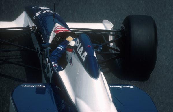 1990 Monaco Grand Prix.Monte Carlo, Monaco.25-27 May 1990.Jean Alesi (Tyrrell 019 Ford) 2nd position.Ref-90 MON 11.World Copyright - LAT Photographic