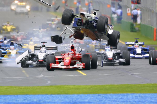 2002 Qantas Australian Grand Prix - Sunday Race.