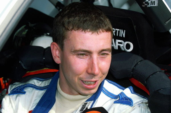 Markko Martin (EST), Ford, remains in second place. FIA World Rally Championship, Rd9, Neste Rally Finland, Jyvaskyla, Finland. Day Two. 7 August 2004. DIGITAL IMAGE