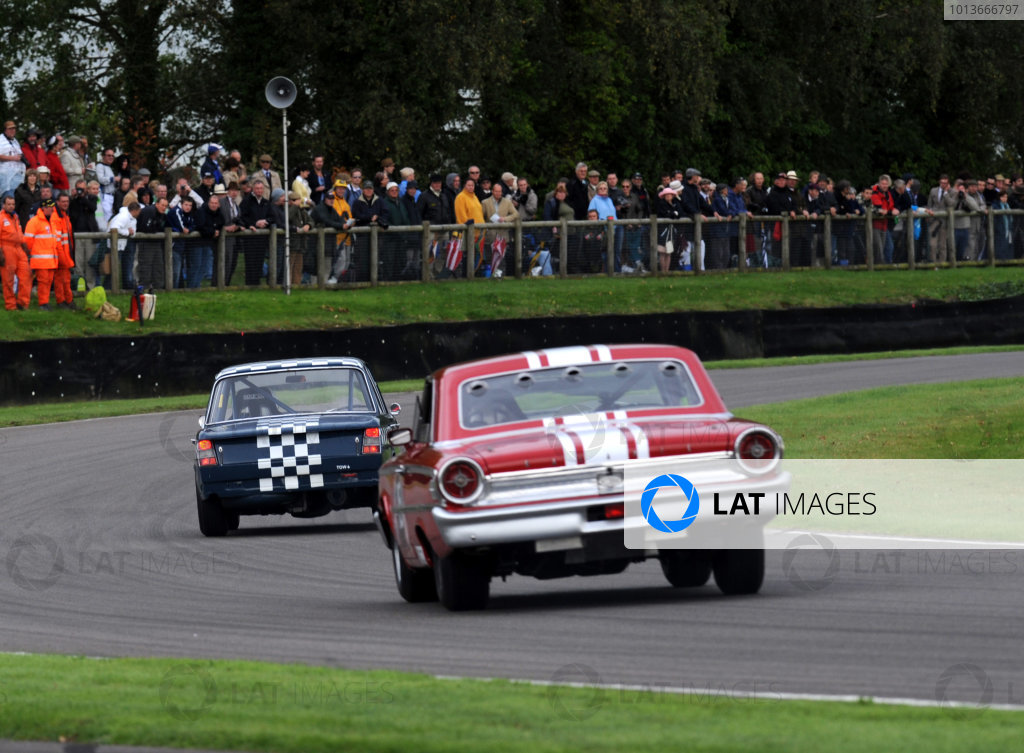 Goodwood Estate, West Sussex, 15th - 18th September 2011 St Mary's Trophy Race 2 Nick WIGLEY, Ford Galaxie 500. World Copyright:Jeff Bloxham/LAT Photographic Ref: Digital Image